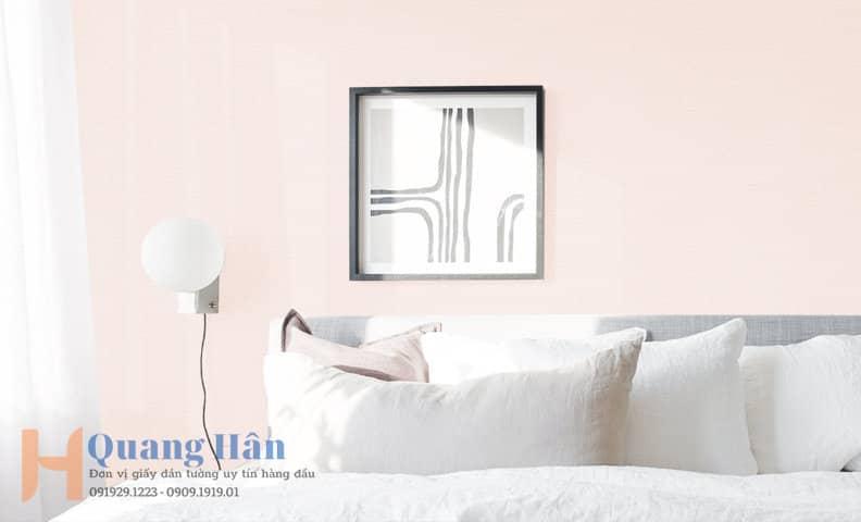 Giấy dán tường phòng ngủ đơn giản